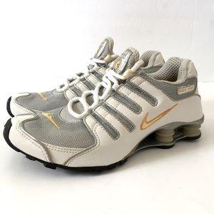 Nike Shox Navina Silver White Running Sneakers 8.5